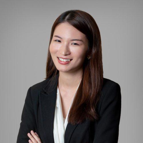Photo of Jane Lu at Gall Hong Kong.